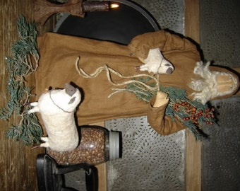 Old Thyme Santa and Sheep