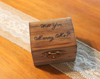Proposal Box - Will You Marry Me?