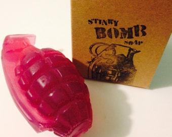 Black Cherry Bomb Soap