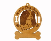 2085 Cavalier King Charles Personalized Dog Ornament