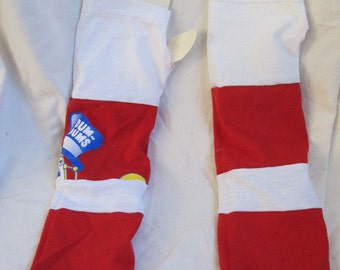 SALE - Patchwork Jersey Fingerless Gloves (3691)