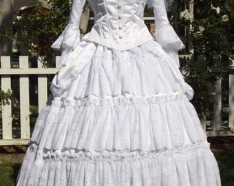 Christines' Wedding Gown from Phantom of the Opera.....custom sizes and colors Victorian Wedding Gown