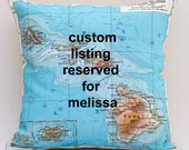 Reserved two HAWAII DIY pillow kits