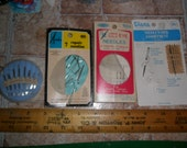 4 Packages of VINTAGE Sewing Needles for Handsewing and Sewing REpair work