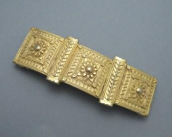 Vintage Etruscan Buckle Accessocraft  M5615