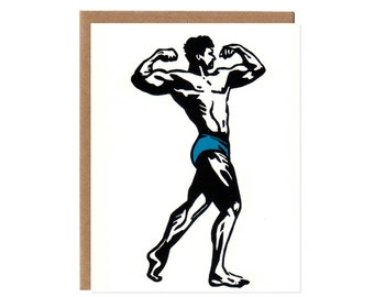 Bodybuilder Card
