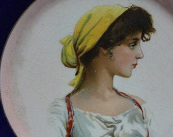 Taylor Smith Taylor Decorative Plate - Gypsy/Bohemian Woman