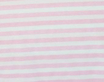 Baby pink stripes 1 yard
