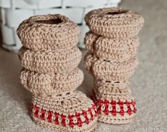 Crochet PATTERN - High Boots