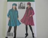 Uncut Simplicity Pattern 1719 Size XXS-XL Coat, Jacket and Hat