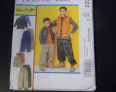 Uncut McCall's Pattern 6222 Size M-Xlg Children's and Boy's Shirt, Vest and Pants