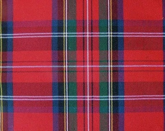 90 Inch Round Custom Made Plaid Tartan Tablecloth Wedding