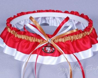 San Francisco 49ers Wedding Garter
