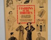 Fashion of the Thirties by Carol Belanger Grafton
