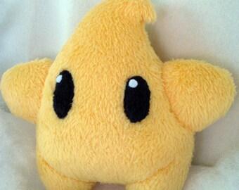 Super Mario Galaxy Luma Golden Yellow
