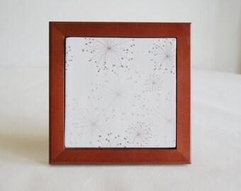 White Tile Trivet / Handmade Trivet Tile / House Warming Gift Under 30