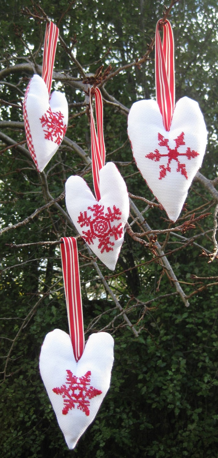 Cross stitch pattern CHRISTMAS ORNAMENTS by anetteeriksson