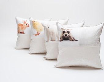 baby animal pillows