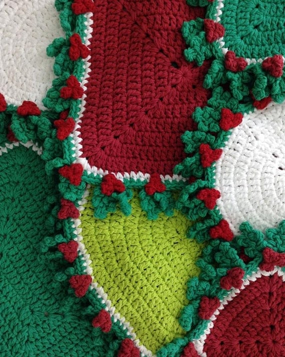20 Holly Hot Mats Crochet Patterns PDF