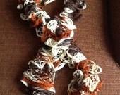 Fantastic falling for you Fall Shades  French Ruffle scarf  Beautiful