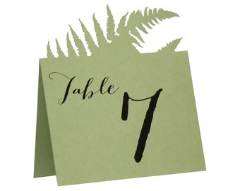 Fern Table Numbers