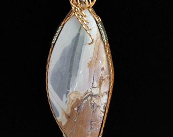 Picture Jasper Pendant. Listing 177076838