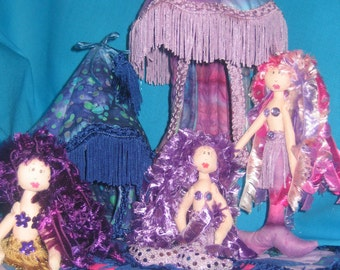 ePatterns - FIVE mermaid patterns - Adriana, Mermaid Magic, Krystal & Luke, Marina, Rainbow Mermaids