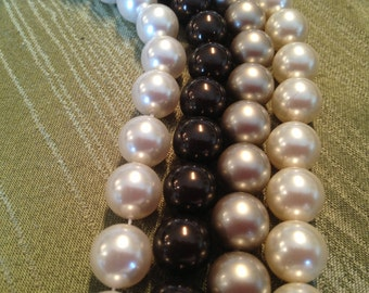 SALE!!!  SALE!!!  12mm Genuine Swarovski Pearls (5810), Your choice of color and package size.