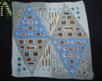 Vintage Handkerchief Tammis Keefe Notions and More