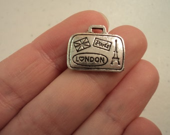Luggage/Travel Charm - Set of 10 - #JKL124