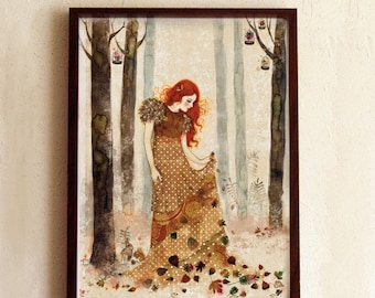 Limited Edition Print - Autumn Sorcery  8/10
