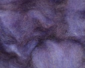 Plum Purple Pleasure Wensleydale Roving 4oz
