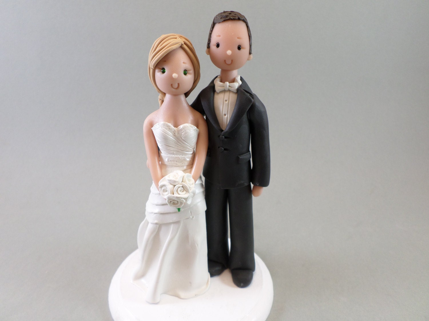 Wedding Cake Toppers Personalized Bride & Groom Traditional