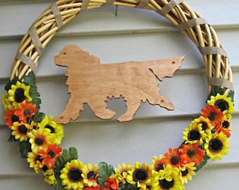 Cavalier King Charles Spaniel Wreath