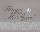 Happy New Year Note Card ~ Set of TEN