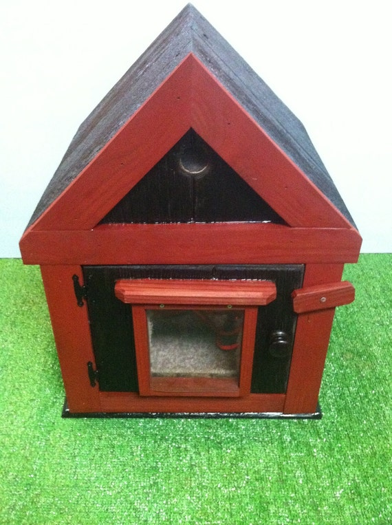Items similar to HEATED outdoor CAT HOUSE bed shelter on