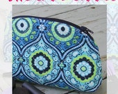 Zippered Cosmetic Case Makeup Bag PDF Pattern Download