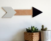 Wooden Arrow Wall Decor / Sign / Art / Hanging - Limited Edition.