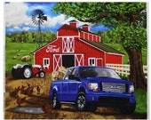 Ford F150 Truck Quilt Panel