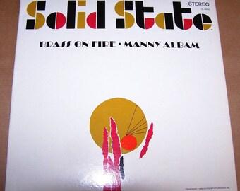 Vintage Manny Albam Brass on Fire Vinyl LP Stereo Album 1966 - ReDuCeD