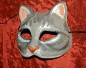 Cat Kitty Mask Gray Puss in Boots Graymalkin Halloween