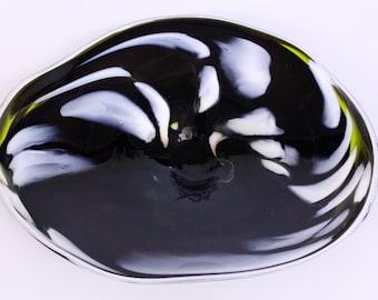 Wall Art Glass Blown Platter 127