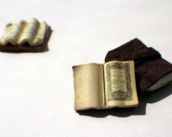 Miniature Open Book --- Aristotle