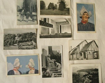 Vintage 1940s European Postcards - Set of 20