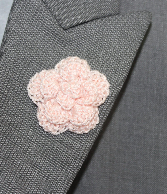 Mens Lapel Flower Buttonhole Flower Mens by LittleMonkeyShop
