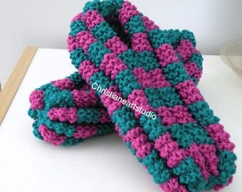 Popular items for yarn slippers on Etsy