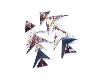 Triangled Earrings