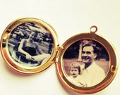 Custom Locket Photographs Quotes Permanently Sealed Inside Lockets Custom Picture Placement Service Keepsake Gift