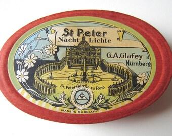 St. Peter Nachtlichte - German Floating Mini Candle Souvenir