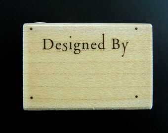 SALE Hero Arts DESIGNED BY Wood Mount Rubber Stamp